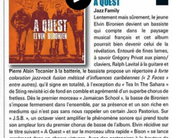 Chronique Bassiste Magazine n°69