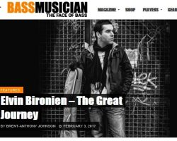 « The great journey » Bass musician magazine